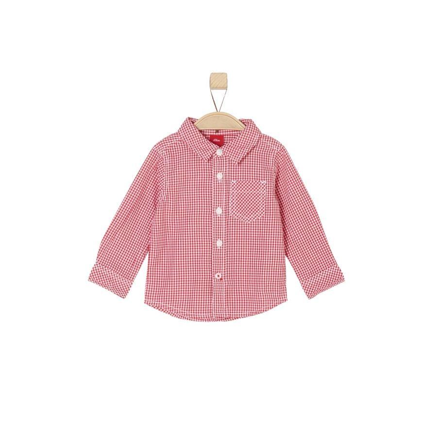 s.Oliver Boys Camicia rossa