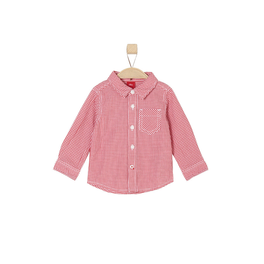 s.Oliver Boys Shirt rood