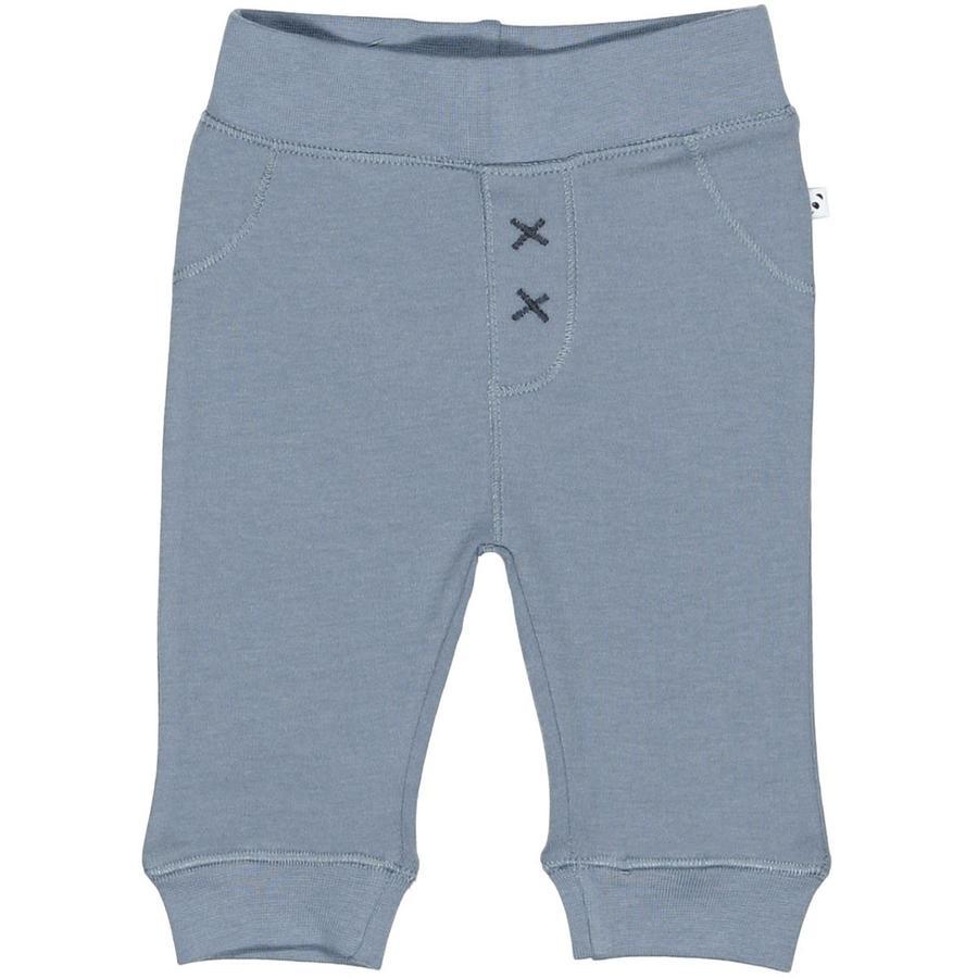 STACCATO Pantalon de survêtement blanc cassé bleu mélangé