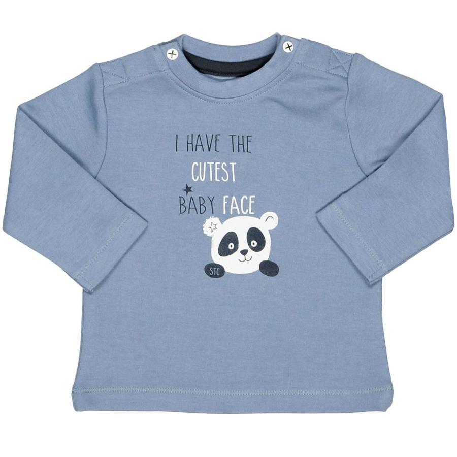 STACCATO Långärmad tröja blue melange