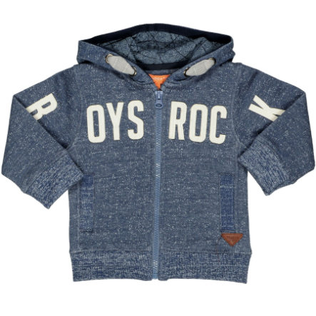STACCATO Boys Sweatjacke blue structure