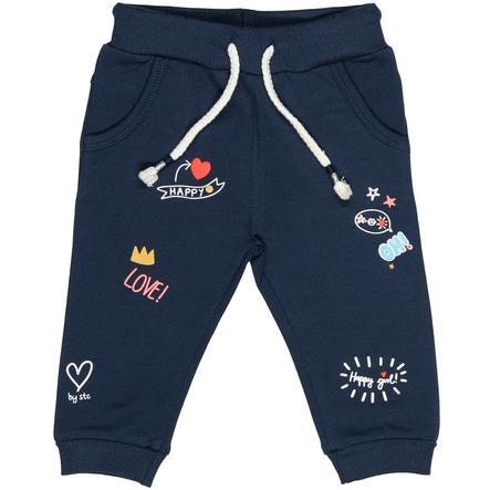 STACCATO Girl pantalon de survêtement en jean bleu