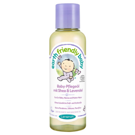 Lansinoh Earth Friendly Baby® Baby-Pflegeöl mit Shea & Lavendel 125 ml