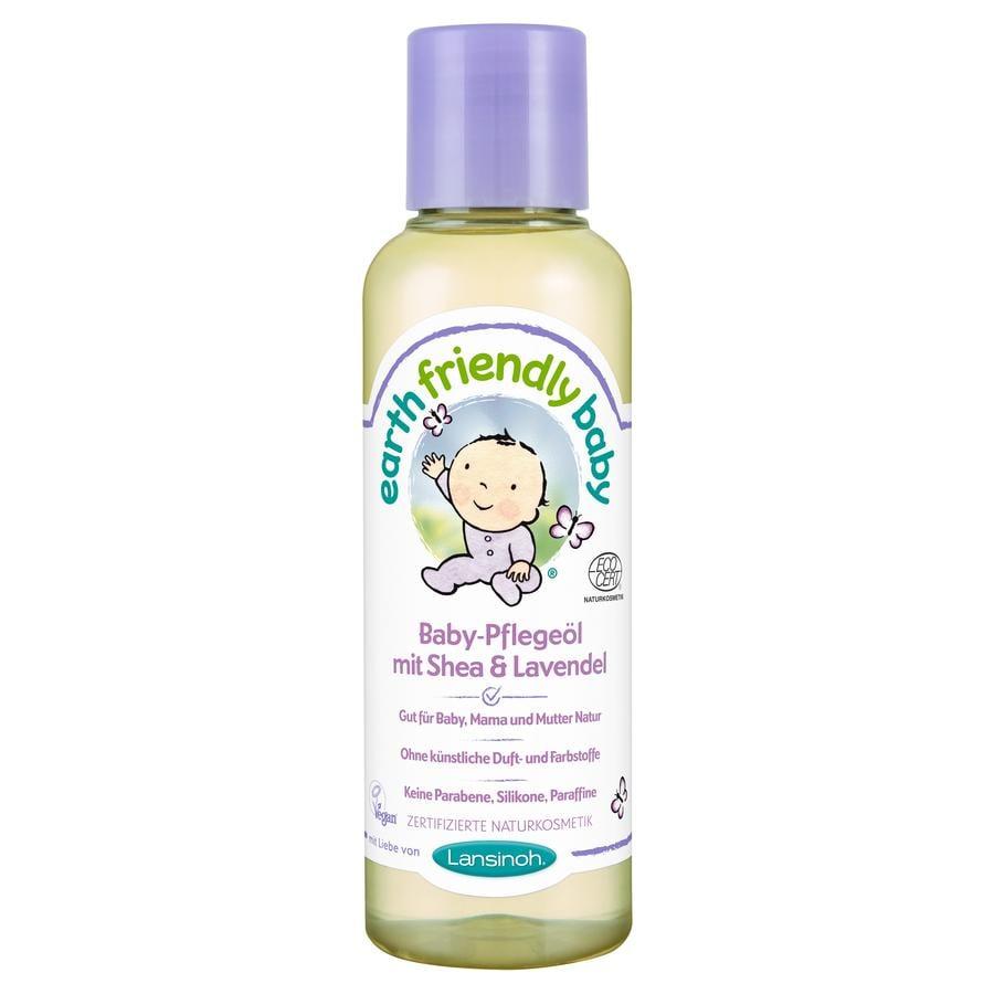 Lansinoh Baby-Pflegeöl Earth Friendly Baby® mit Shea & Lavendel 125 ml