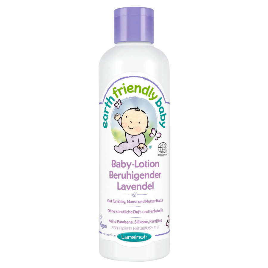 Lansinoh Baby-Lotion Earth Friendly Baby® Beruhigender Lavendel 250 ml