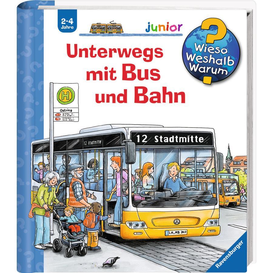 Ravensburger Wieso? Weshalb? Warum? Junior 63: Unterwegs mit Bus und Bahn