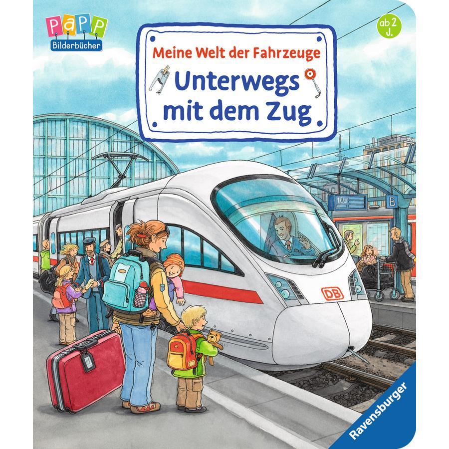 Ravensburger Meine Welt der Fahrzeuge: Unterwegs mit dem Zug