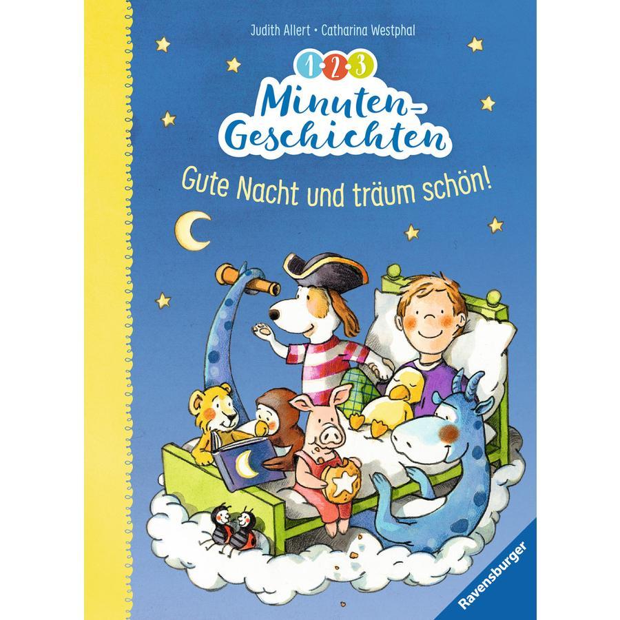 Ravensburger 1-2-3 Minuten-Geschichten: Gute Nacht und träum schön