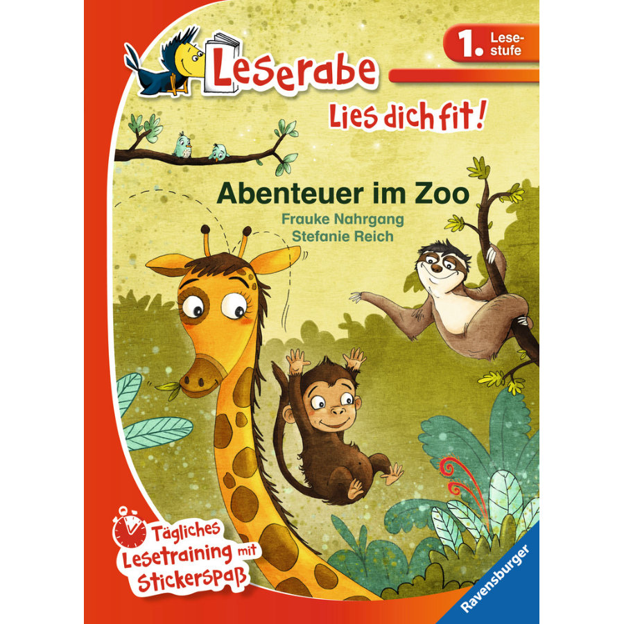 Ravensburger Leserabe Lies dich fit! - 1. Lesestufe: Abenteuer im Zoo
