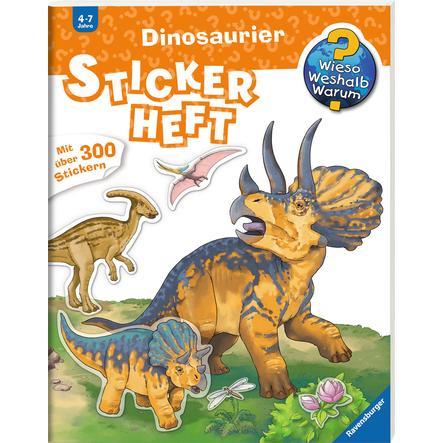 Ravensburger Stickerheft Wieso? Weshalb? Warum? Dinosaurier