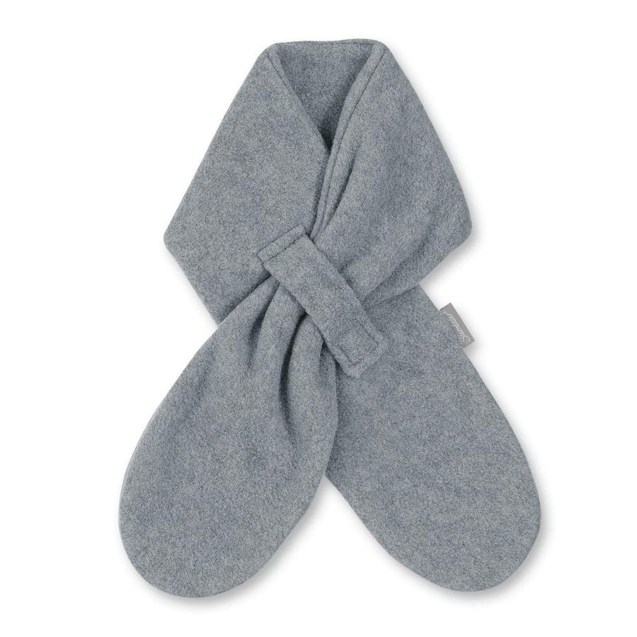 Sterntaler sjaal microfleece zilver melange
