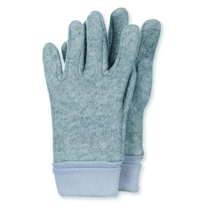 Sterntaler Fingerhandschuh Microfleece silber melange