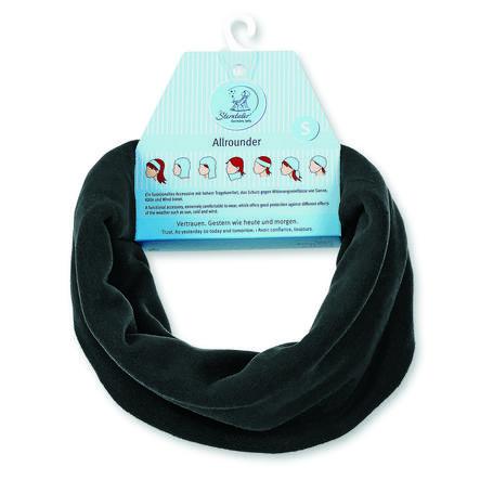 Sterntaler Multifunctionele sjaal Microfleece zwart