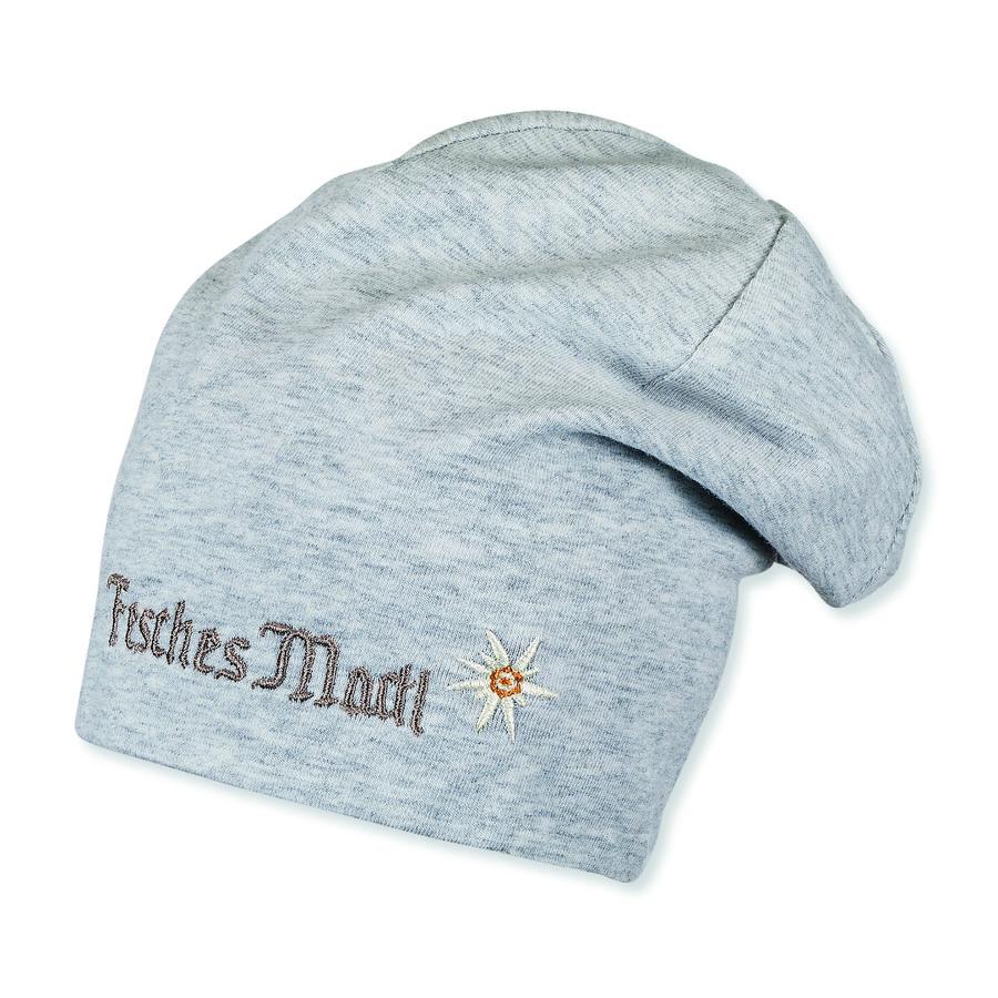 Sterntaler Girl bonnet réversible slouch argent