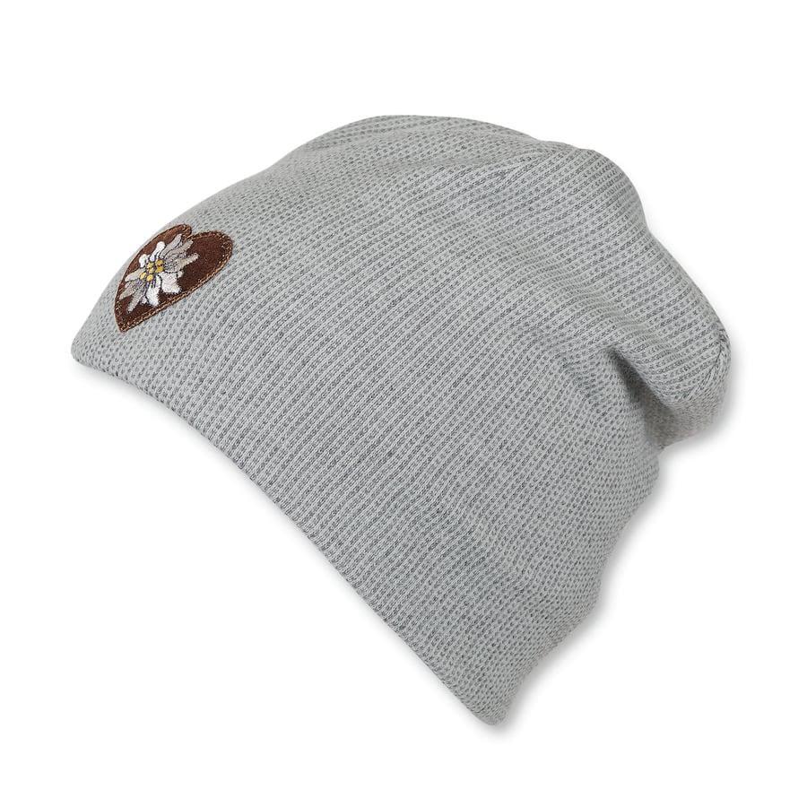 Sterntaler Bonnet réversible Slouch Beanie gris fumé