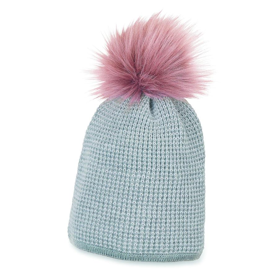 Sterntaler Girl s Bonnet tricoté Lurex argent mélangé