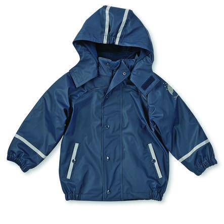 Sterntaler Manteau de pluie enfant micropolaire bleu marine