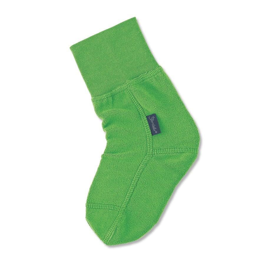 Sterntaler Fleece-Socken Elastikware grün