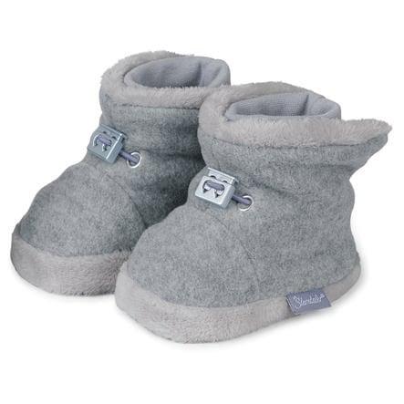 Sterntaler Boots Teddyflausch silvermelerad