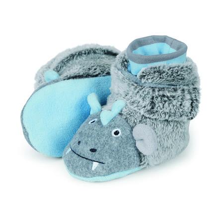 Sterntaler Bottes enfant micropolaire duvet gris