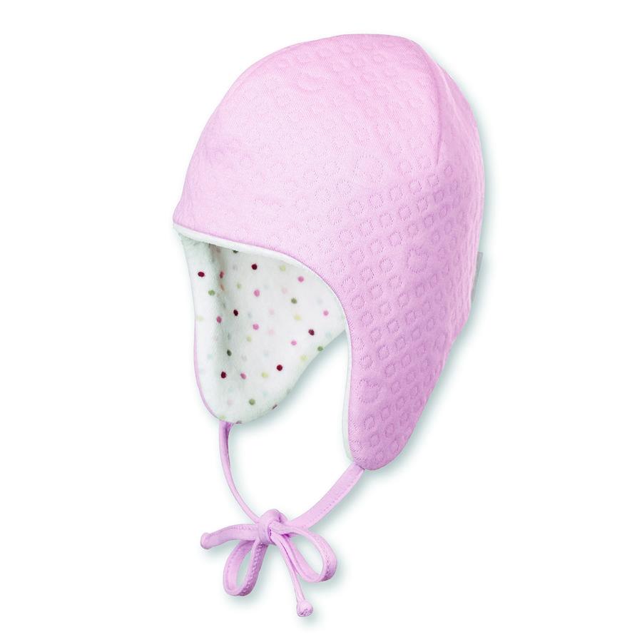 Sterntaler Girl s omkeerbare inca cap dots roze