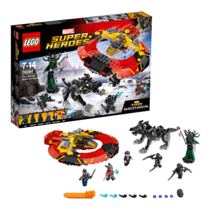 LEGO® Marvel Super Heroes™ Das ultimative Kräftemessen um Asgard 76084