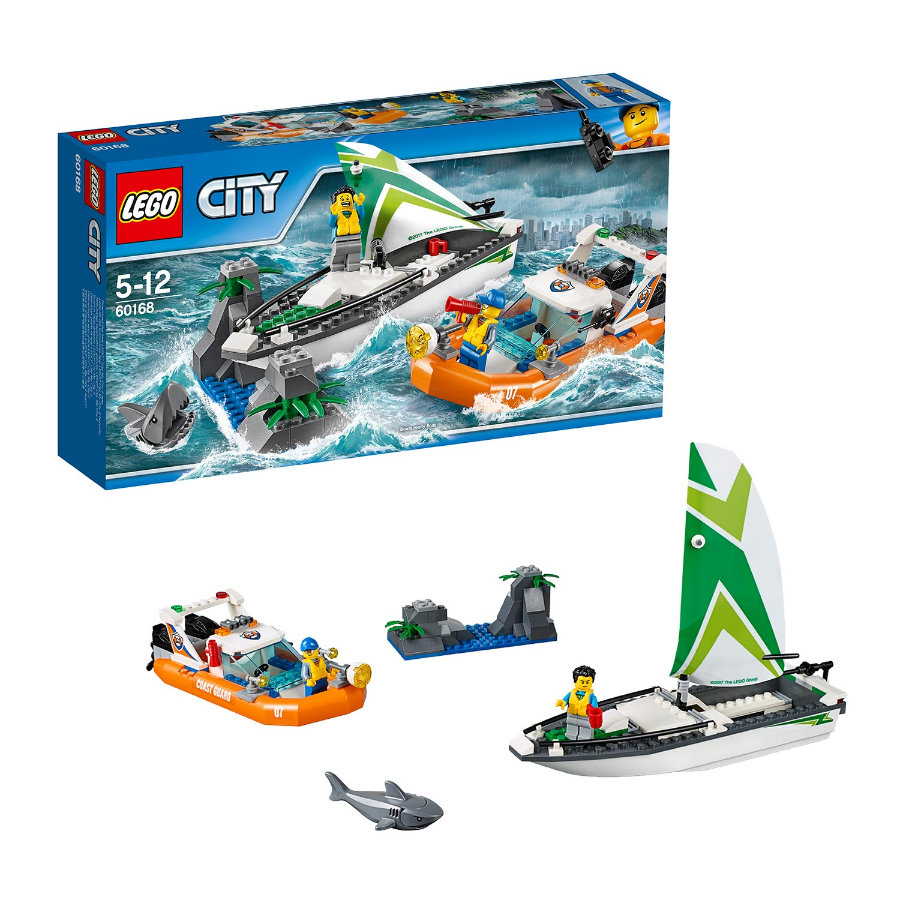 LEGO® City Küstenwache - Segelboot in Not 60168