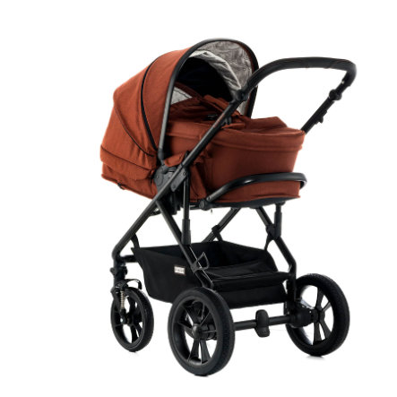 MOON Combi Kinderwagen Lusso City ginger/fishbone