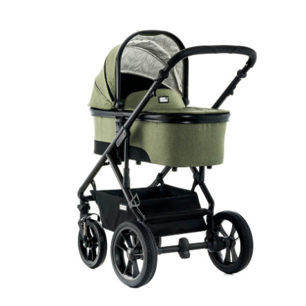 MOON Combi Kinderwagen Nuova City olive/fishbone