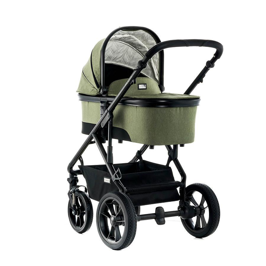 moon kombikinderwagen nuova city olive fishbone baby. Black Bedroom Furniture Sets. Home Design Ideas