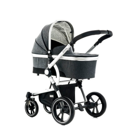 MOON Combi Kinderwagen Cool stone/fishbone