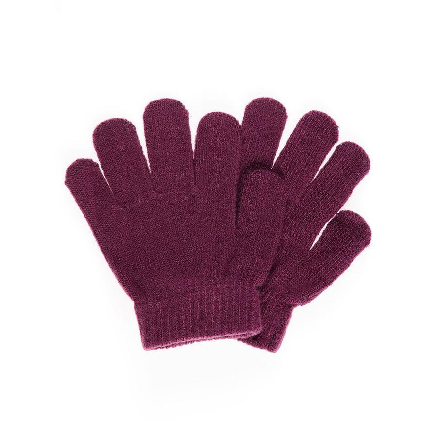 name it Girls Fingerhandschuhe prune purple