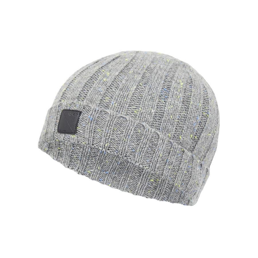name it Boys Bonnet tricoté Mélange gris malle