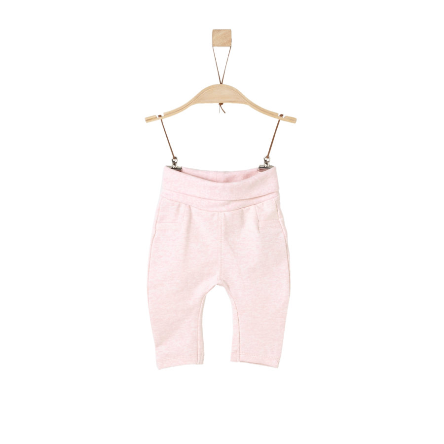 s.Oliver Girls Sweathose light pink melange