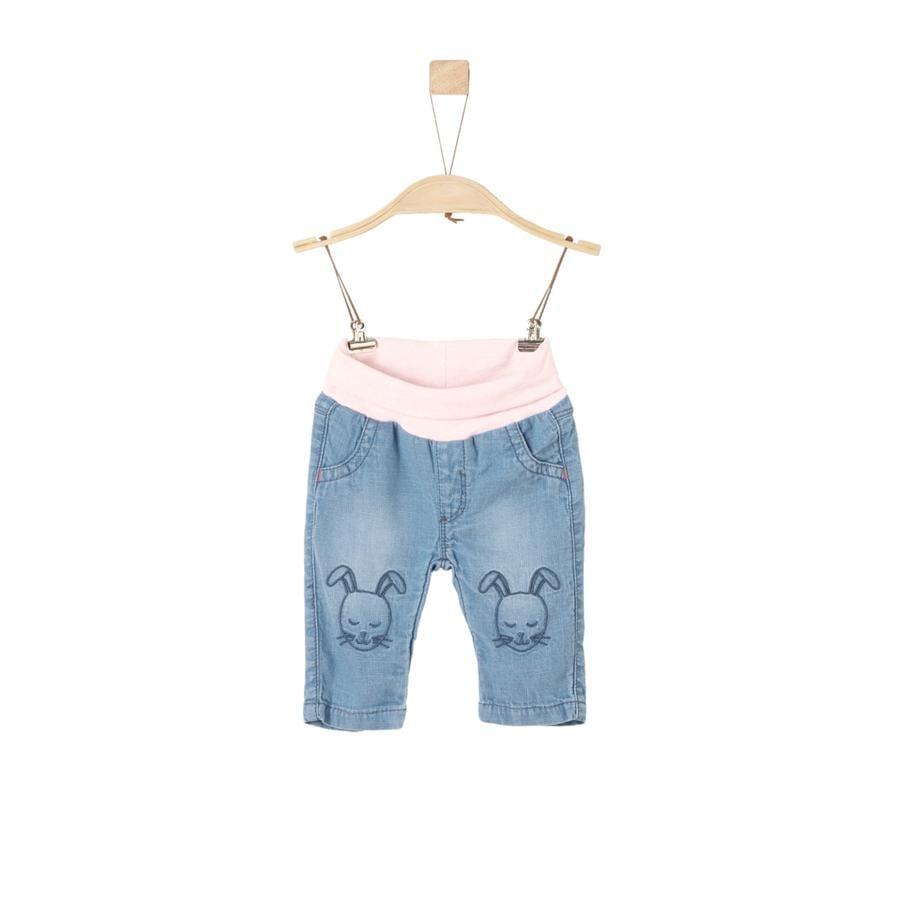 s.Oliver Girl s jeans blauw denim niet rekbaar regelmatig