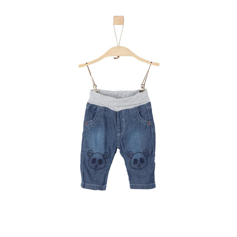 s.Oliver Boys Jeans blue denim no stretch regular