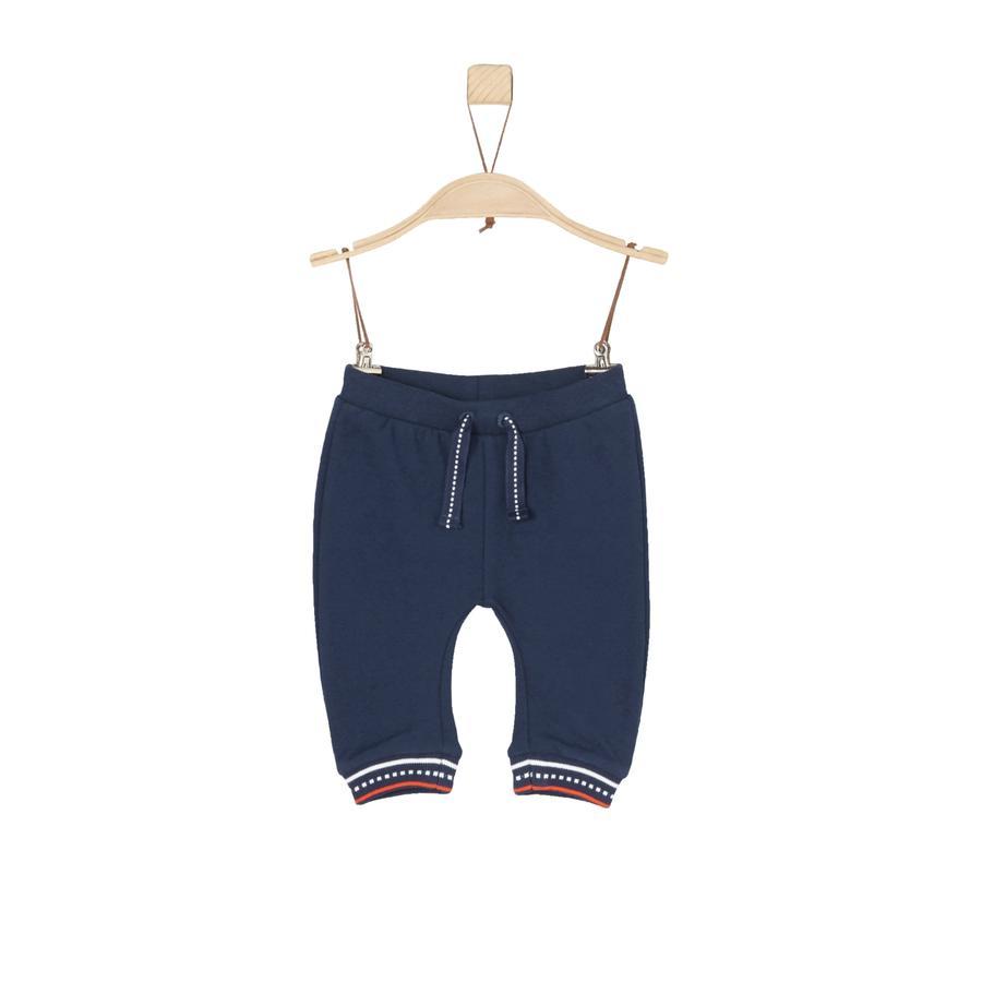 s.Oliver Boys Pantalon de survêtement bleu foncé
