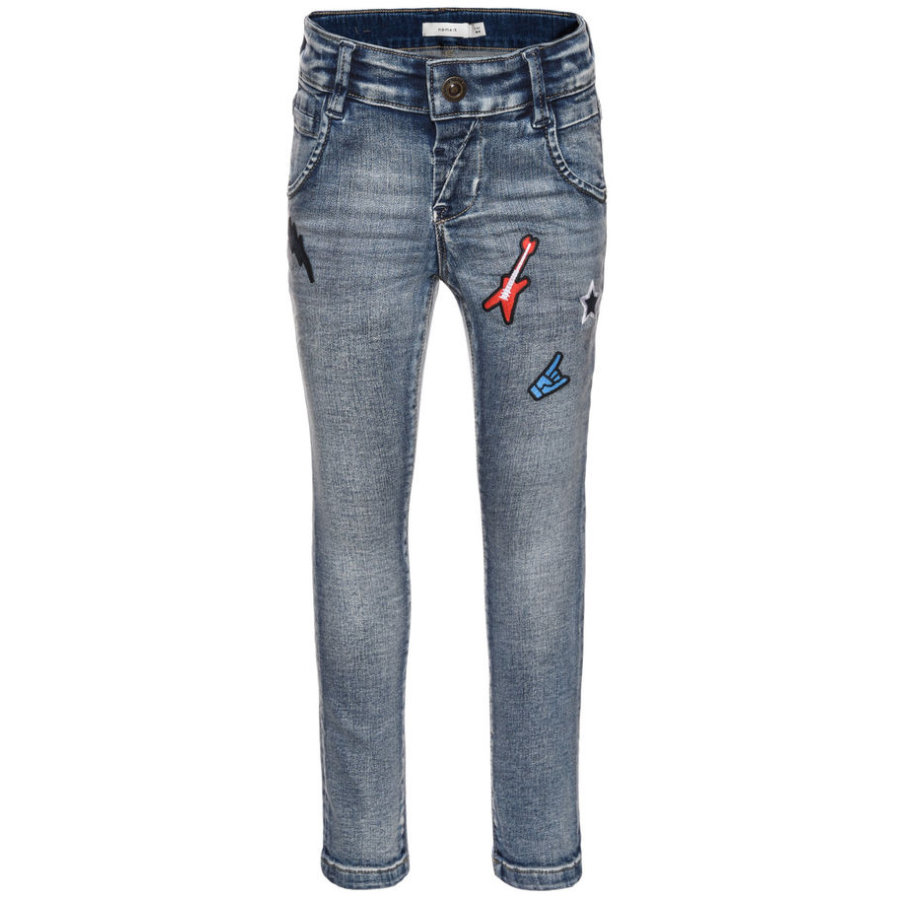 name it Boys jeans Artin medium blå denim