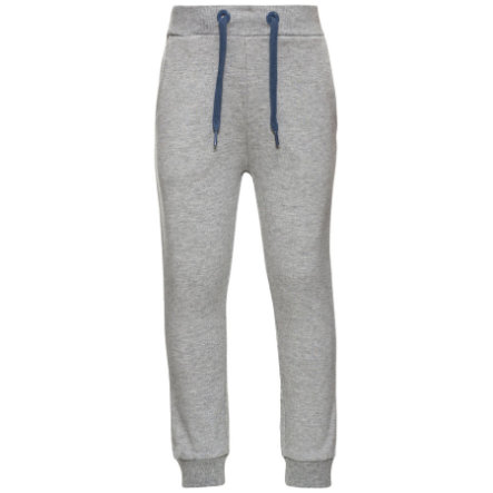 name it Boys Hose Voltano grey melange