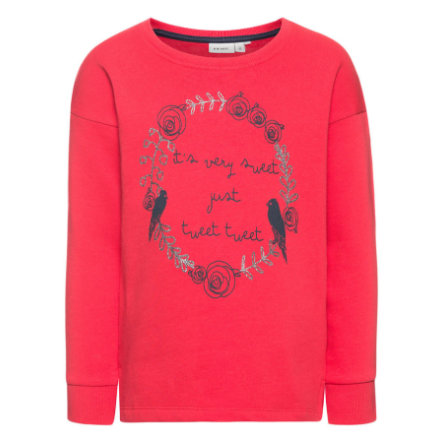 name it Girls Sweatshirt Kiki poinsettia