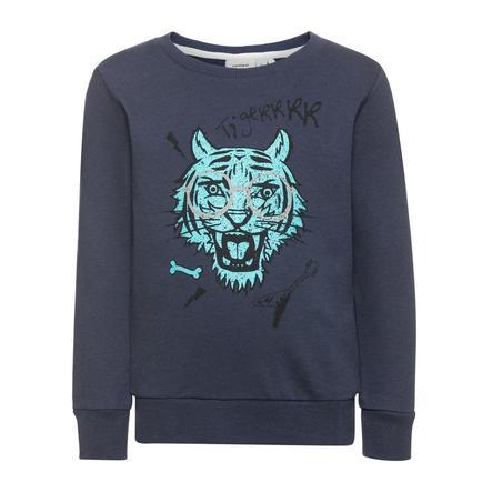 name it Sweatshirt Ken klänningblues