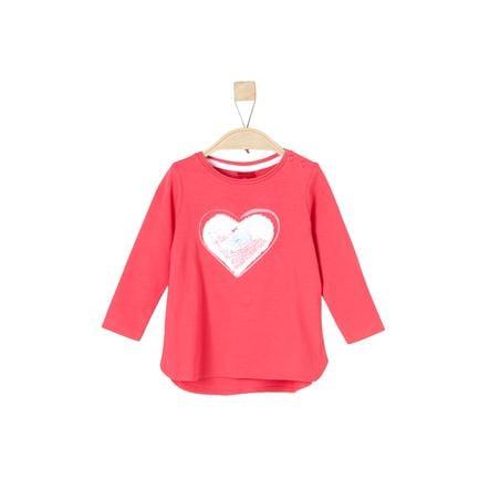 s. Olive r Girls Košile s dlouhým rukávem růžová
