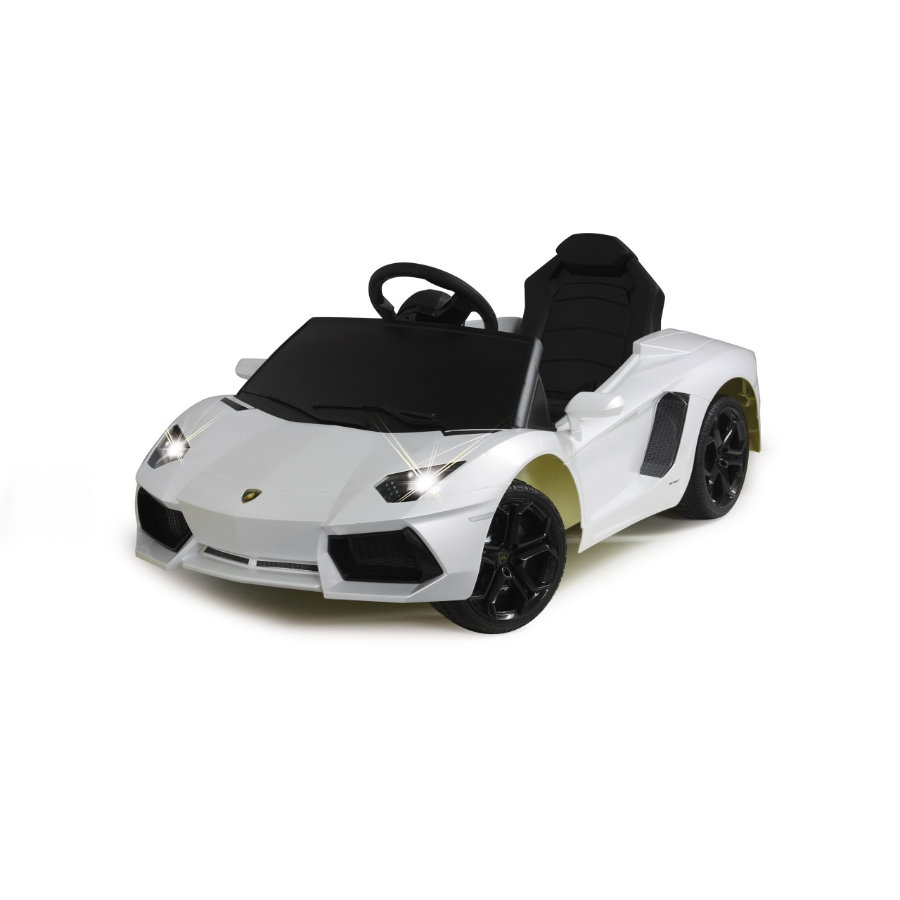 JAMARA Kids Ride-on - Lamborghini Aventador, bílé