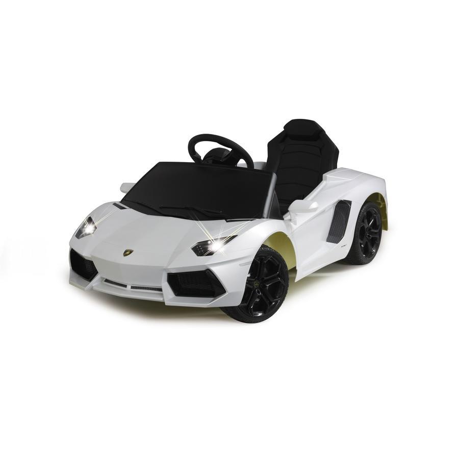 JAMARA Kids Ride-on - Lamborghini Aventador, wit, Accuvoertuig