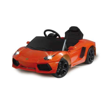 JAMARA Voiture électrique enfant Ride-on Lamborghini Aventador, orange