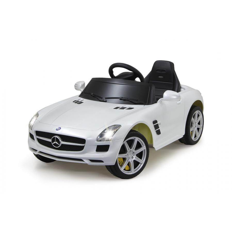 JAMARA Voiture électrique enfant Ride-on Mercedes SLS AMG, blanc