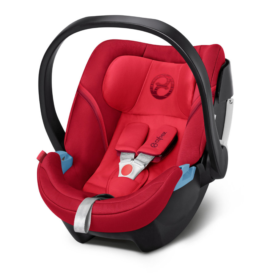 cybex GOLD Silla portabebés Aton 5 Rebel Red-red