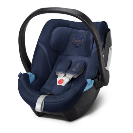 cybex GOLD Babyschale Aton 5 Denim Blue-blue