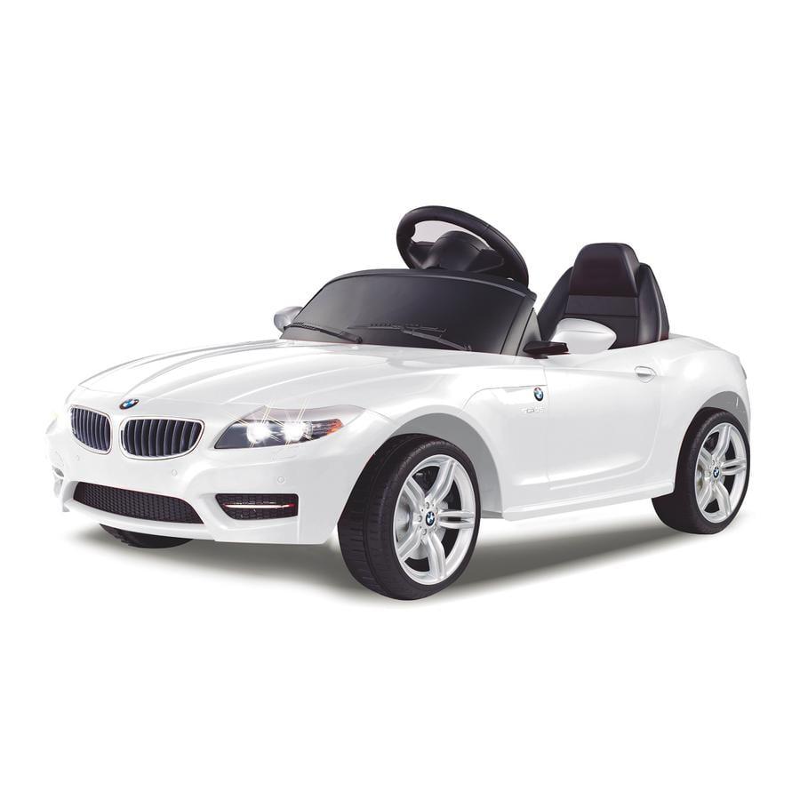 JAMARA Voiture électrique enfant Ride-on BMW Z4 blanc