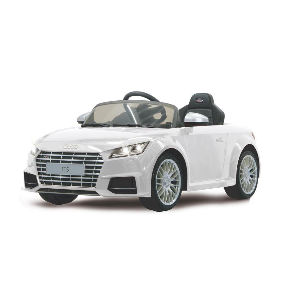 JAMARA Voiture électrique enfant Ride-on Audi TTS Roadster blanc